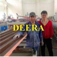 Wholesale Plastic Sheet Making Machine Corrugated Hollow Roofing Board Extrusion Line from china suppliers