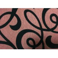 Wholesale Upholstery Flocked Home Textile Fabric Flocked Taffeta Fabric from china suppliers