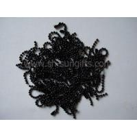 Wholesale Baking finish black ball chain, bead chain, metal ball chain, metal accessory from china suppliers