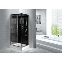 Wholesale Convenient Comfort Bathroom Shower Glass Enclosure Kits , Glass Shower Units from china suppliers