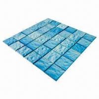 Wholesale Ceramic/Pool/Wall Tiles, Wavy Surface from china suppliers