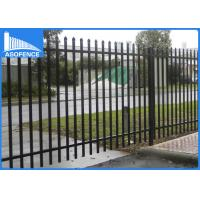 Wholesale Malaysia Market 1.8m*2.4m welded and powder painted garrison fence / used wrought iron fencing / gate from china suppliers