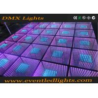 Wholesale RGB Color Interactive Led Dance Floor 5050 SMD  For Event Party from china suppliers