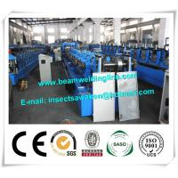 Wholesale Blue Interchangeable C Z Purlin Roll Forming Machine Fully Automatic from china suppliers