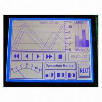Wholesale COB LCD Module in STN Blue Negative LCD, with White Backlight from china suppliers