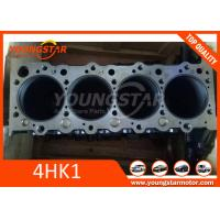 Wholesale ISUZU 4HK1 Engine Cylinder Block , HITACHI Excavator 4 cylinder engine block 8-98204528-0 from china suppliers