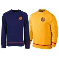 Wholesale Yellow Dark Blue Barcelona Soccer Sweater Football Training Customized from china suppliers