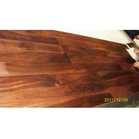 Quality Acacia Engineered  Flooring Flat Surface,UV lacquer.Click system for sale