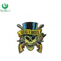 Wholesale Colorful Personalised Embroidered Badges Sew On Patches For Motorcycle Vests from china suppliers