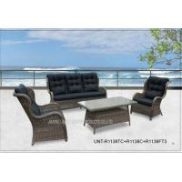 Buy cheap All Weather Popular Patio Seating Sets , Garden Outdoor Wicker Patio Furniture from wholesalers