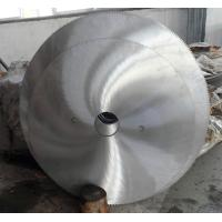 Pendulum tooth profile cold cut 1000mm 8CrV  friction saw blade in tube and pipe plant