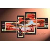 Wholesale African Canvas Art Landscape Oil Painting on Canvas (AR-009) from china suppliers
