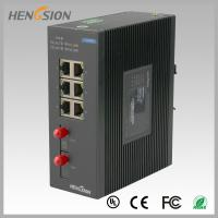 Wholesale 8 Port fast ethernet switch 1.2Mpps Packet forwarding speed , fiber network switch from china suppliers