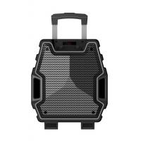 Wholesale 8 Inch Outdoor Black Color Portable  Plastic Body Speaker System With Bluetooth Function from china suppliers