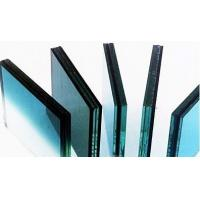 Blue , Grey Architectural Pvb Laminated Safety Glass , Decorative Laminated Glass Panels