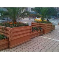 Wholesale wpc outdoor large plastic planters plastic square planter square concrete planters from china suppliers