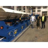 Buy cheap 1200m / Min 560mm Straight Line Wire Drawing Machine With Full Immersed Lubricant System from wholesalers