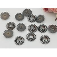 Wholesale 15mm SunFlower Design Acrylic Flatback Rhinestone Crystal Cabochons For Diy from china suppliers