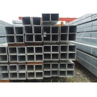 Quality Hollow Section Low Carbon Square Tubular Steel With Grade GB Q235B Q345B For Structural Beam 20 * 20 * 1.5 mm for sale