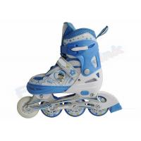 Wholesale Boys and Girls Childrens Adjustable Roller Skates For Novice Skater , Aluminum Frame Chassis from china suppliers