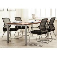 Contemporary Mesh Back Office Chair Without Wheels Ergonomic Style