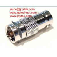 Wholesale Coaxial Adapter Coaxial Adaptor BNC Female To F Male CCTV Connector / BNCF.FM.01 from china suppliers