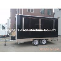 Wholesale Snack Breakfast Street Food Vans For Hire , Franch Standard from china suppliers