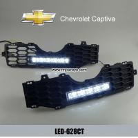 Wholesale Chevrolet Captiva DRL LED Daytime driving Lights turn signal daylight from china suppliers