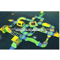 Wholesale Great Inflatable Obstacle Courses Green Water Obstacle For Business from china suppliers