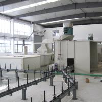 Wholesale Ground Conveyor Powder Painting Production Line For Small Metal Parts from china suppliers