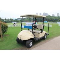 Wholesale Electronic Two Seat Golf Carts , Club Car Electric Golf Cart With Curtis Controller from china suppliers