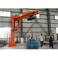Wholesale 0.5 - 5t BZ Model Column Cantilever Jib Crane Lifting Equipment For Workshop from china suppliers