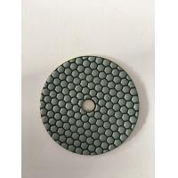 China 125mm Dry Diamond Hand Polishing Pads For Marble ISO9001 Listed on sale