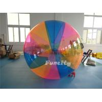 Wholesale 1.0mm PVC / TPU Colorful Inflatable Water Walking Ball With Custom Logo from china suppliers