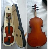 Wholesale Antique Half Size Student Classic Violin Handmade With Bow / Case from china suppliers