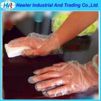 Quality PE glove plastic gloves disposable transparent gloves for sale