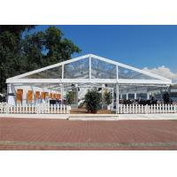 Wholesale Aluminum Alloy Easy Set Up Clear Event Tent Flame Resistant 18m * 20m Canopy from china suppliers