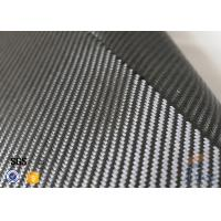 Wholesale 3K 240g/m2 Carbon Fiber Cloth Silver Coated Fabric Engineering Decoration from china suppliers