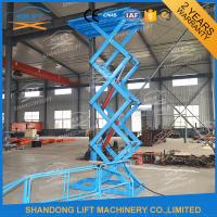 Wholesale Materials Lifting Warehouse Hydraulic Cargo Scissor Lift 1.6 ton 3.8m from china suppliers