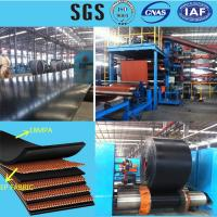 Wholesale EPDM Fabric Heat Resistant Rubber Conveyor Belt low abrasion and high tensile strength ISO9001 and CO/FORMA/FORME from china suppliers