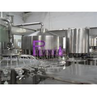 Wholesale Automatic Monoblock Pulp Juice Filler , Three In One Filling Machine from china suppliers