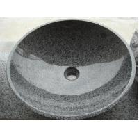 Wholesale Round granite G654 sink from china suppliers