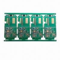 Quality Multilayer PCB with 6 Layers, Made of FR4 for sale