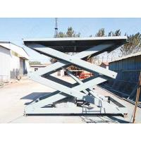 Wholesale Truck mounted scissor lift motorized projector , scissor cargo lift from china suppliers