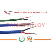 Wholesale Teflon insulated blue / red thermocouple cable  type JX KX EX with superfine bare wire conductor from china suppliers