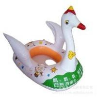 Wholesale 0.25MM thickness PVC inflatable duck swim ring , animal swimming ring seat from china suppliers