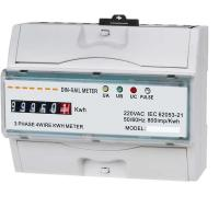 Wholesale Three Phase Power Quality Monitoring Equipment KWH Meter With LCD Display from china suppliers