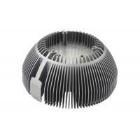Lights Radiator Aluminum Die Casting Parts Efficiency Round Extruded LED Heat Sink