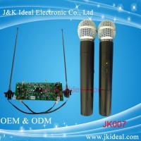 Wholesale JK007 Professional wireless microphone with two channels for conference system from china suppliers
