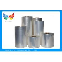 Wholesale 45mic Transparent Blown PVC Sleeve Label Film Rolls For Cans Label from china suppliers